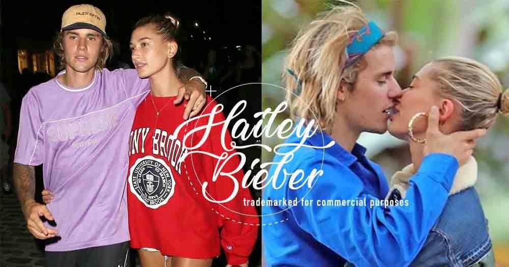 Hailey Baldwin與Justin Bieber結婚後,立即為婚後名字「Hailey Bieber」註冊商標發展時裝品牌!