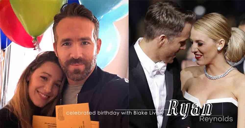 這對夫婦再度發揮幽默感!Ryan Reynolds與太太Blake Lively以「缺席選票」慶祝其42歲生日!