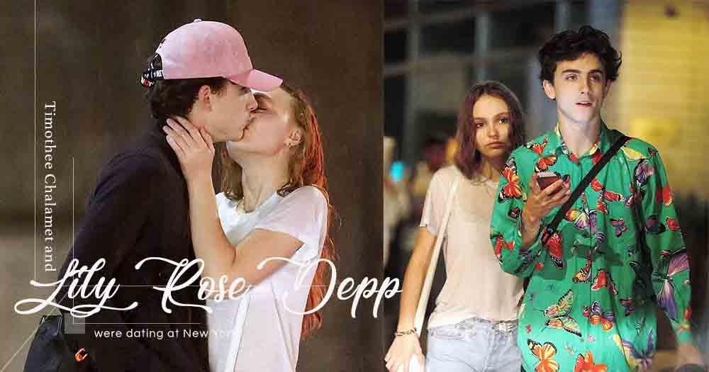 熱戀中的一對小情人!Lily Rose-Depp與男友Timothée Chalamet紐約街頭擁抱放閃!
