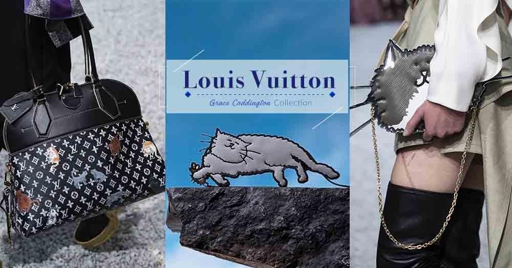 愛貓控必定為之而瘋狂!Louis Vuitton聯同Grace Coddington合作推出全新Catogram系列!
