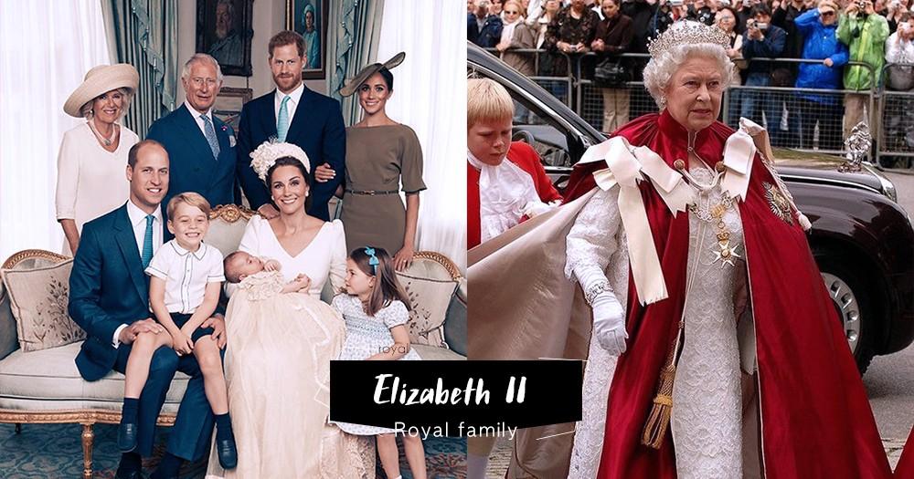 「英國的繼承者們」登基66年的英女王Elizabeth II 成為歷史最長君主,皇室公開下任候選人名單!