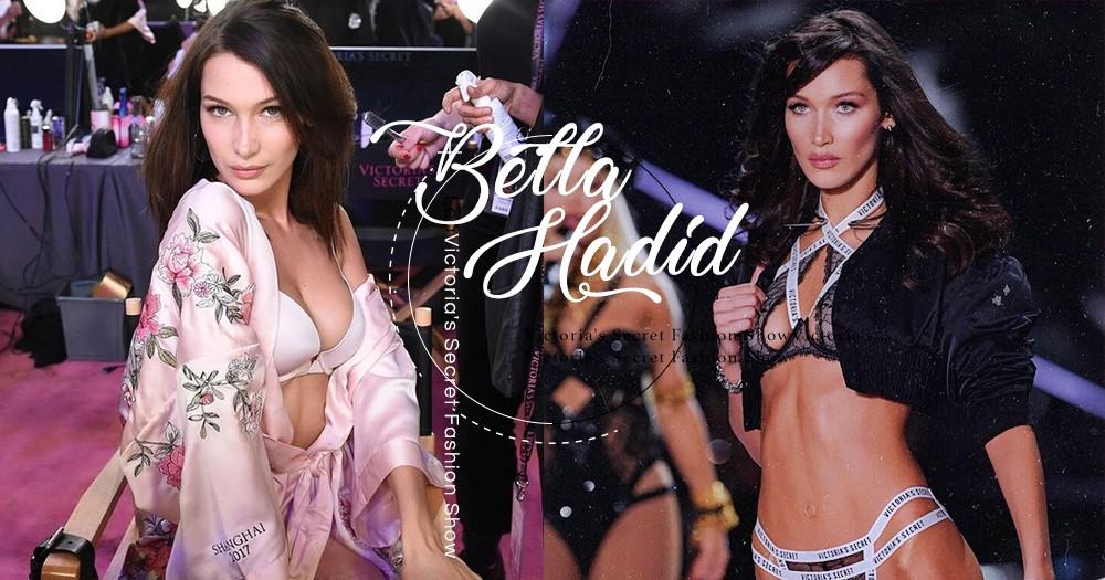 「真急不及待分享」Bella Hadid 興奮的在IG 展示2018 Victoria's Secret Show上穿的內衣!