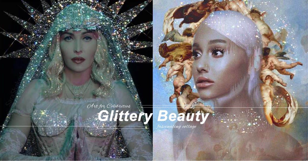 連Madonna、Ariana同Bella Hadid都被閃到忍不住按讚的水晶拼貼!難怪Rihanna都愛!