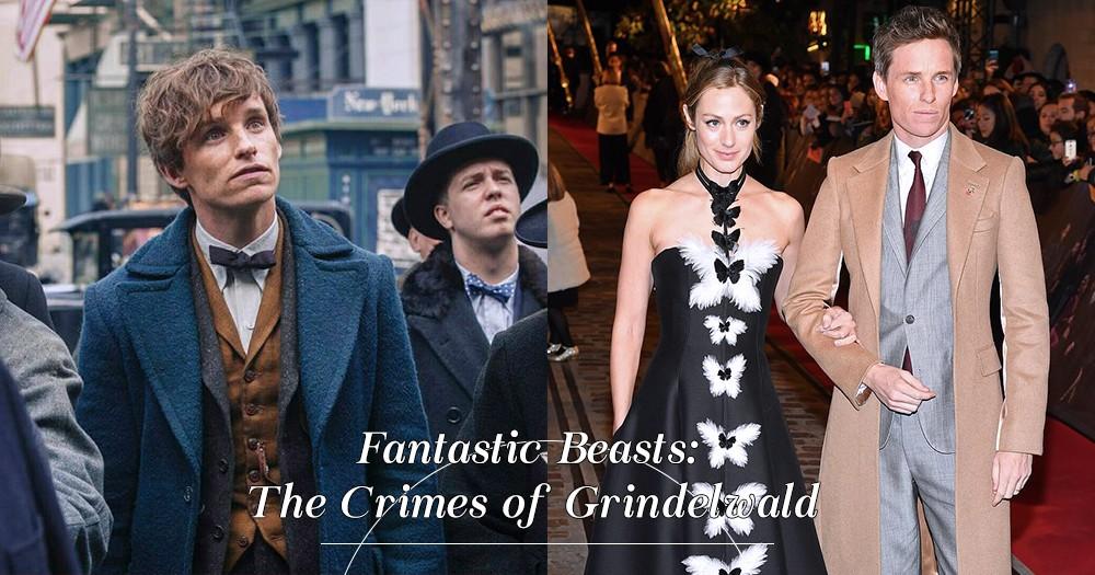 「現實也是暖男」Eddie Redmayne 主演的《怪獸2》紐約首映禮,與妻子甜蜜牽手出席!