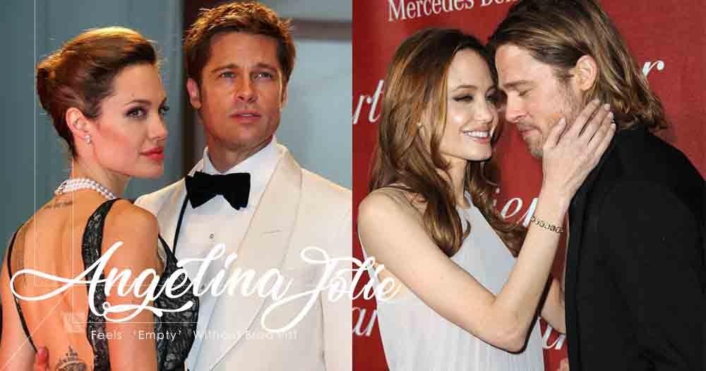 「無論多恨一個人,黑夜來臨時你卻會想起對他的愛」Angelina Jolie坦言失去Brad Pitt的生活十分空虛!