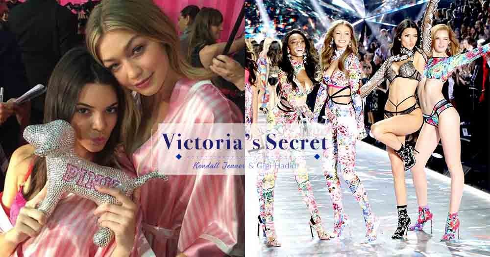 由天使變超模!從Victoria's Secret Fashion Show看Gigi Hadid和Kendall Jenner的美麗蛻變!