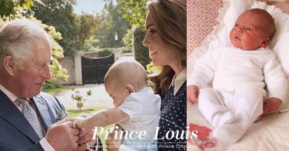 Prince Louis長大了!外媒發佈Prince Louis與爺爺查理斯王子的溫馨照片!