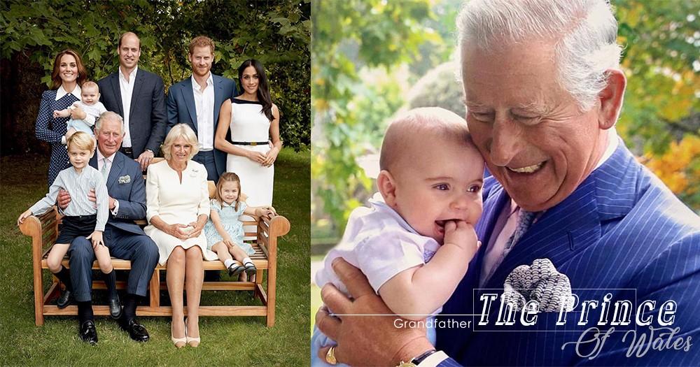 「當爺爺是我最大的成就」看查理斯王子與路易小王子的溫馨互動,絕對能感受到濃濃的家庭愛!
