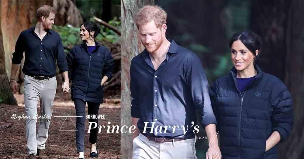 「比起甜言蜜語,貼心的小舉動更讓人感動」哈里王子生怕Meghan Markle著涼,為她披上自己的外套!