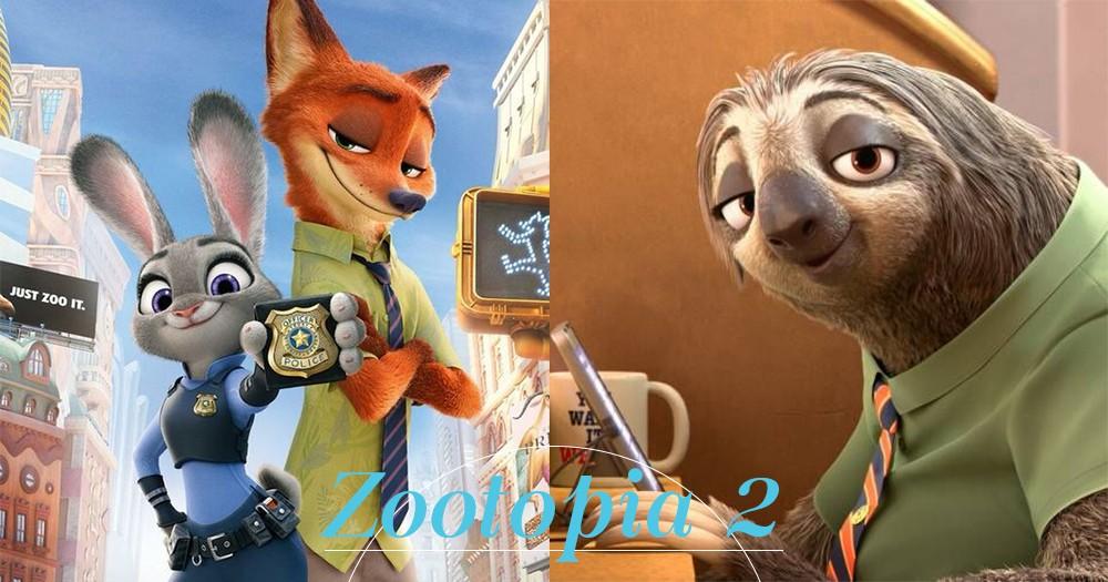 好想念茱迪警員和阿閃啊!導演於Twitter預告《優獸大都會Zootopia》將推出續集!