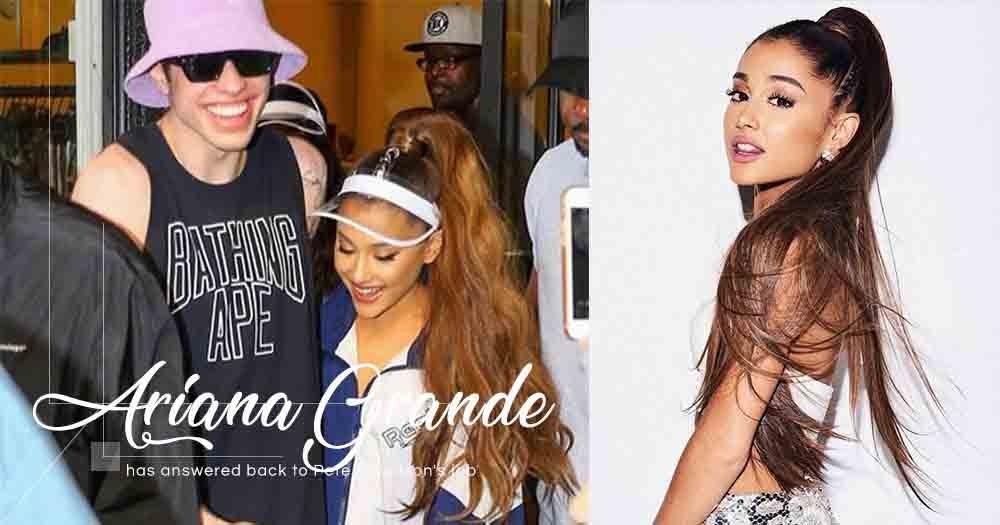 Ariana Grande分手後多次被前男友Pete Davidson消費,在Twitter反擊獲大批粉絲支持!