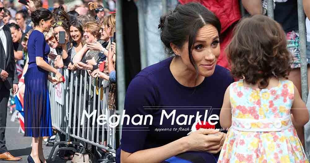 懷孕的Meghan Markle再打破皇室的衣著傳統嗎?外訪時,她在閃光燈下不經意露出逆天長腳!