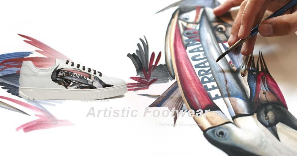 當墨西哥藝術遇上意大利經典!Salvatore Ferragamo 造就運動鞋的詩情畫意!