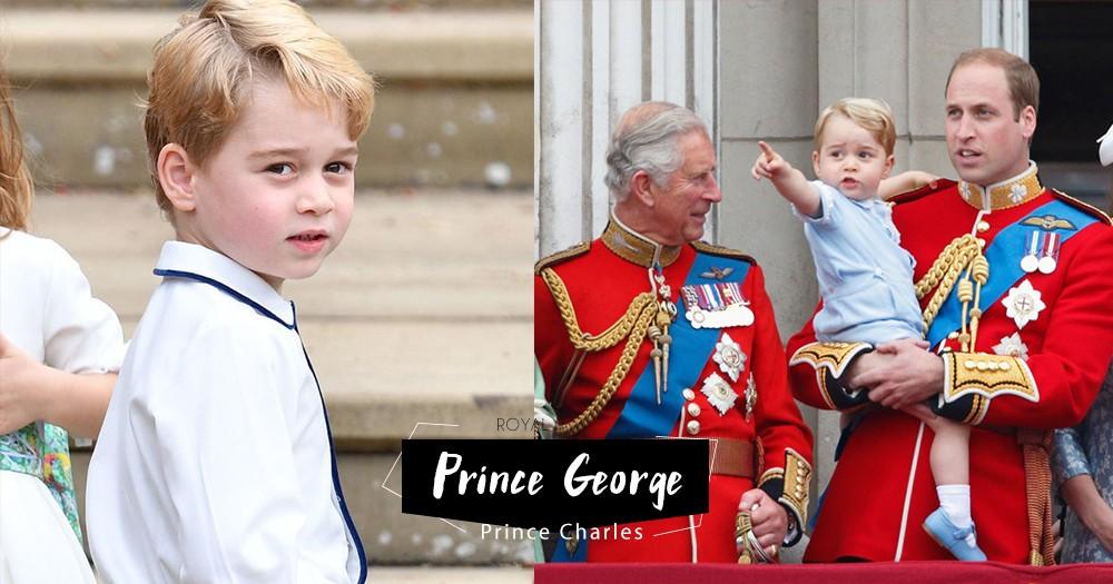 「最重要都是家庭溫暖」小王子Prince George 竟然給了爺爺一個超可愛的稱號?而且他們關係很好!