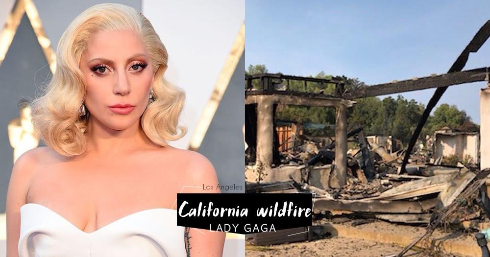 「幸好沒有生命危險」加洲大火繼續:天后Lady Gaga 和Miley Cyrus 等名人逃難,但豪宅都被燒成爛地了!