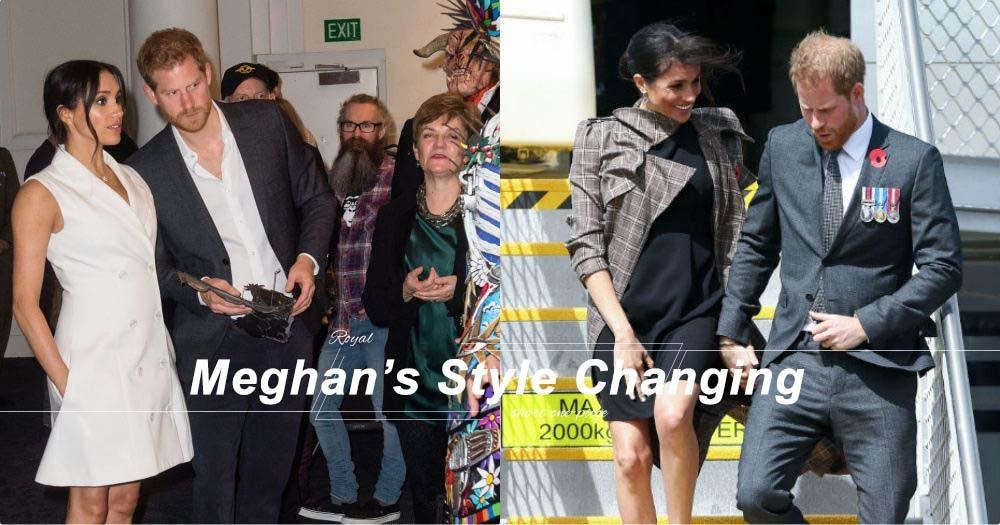 懷孕的Meghan Markle身型看上去依然標準!原來這是她愛上短身裙的原因!