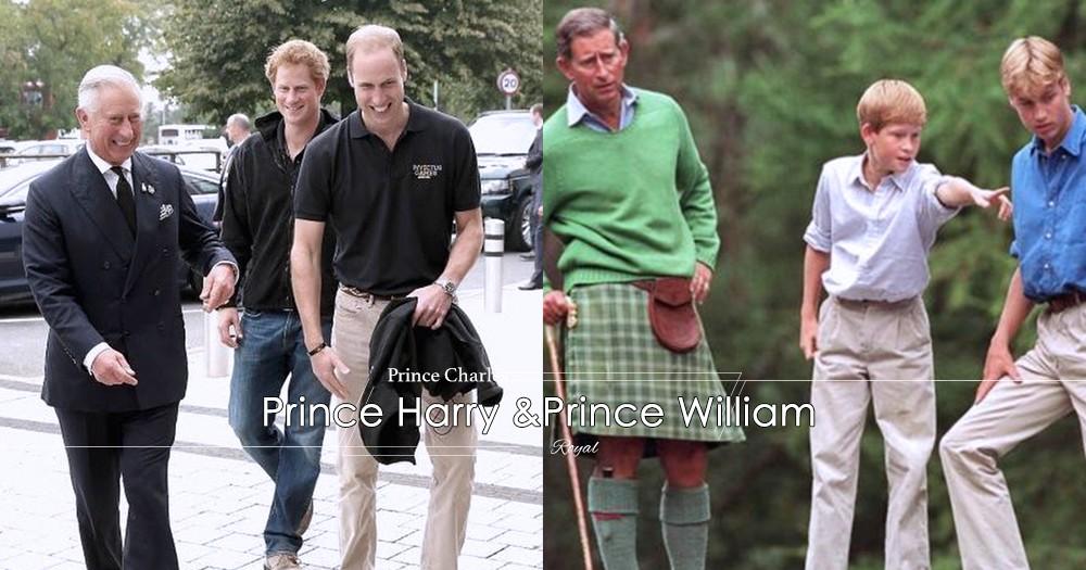 皇室的教育:威廉王子與哈利王子從小就有了「撿垃圾」的習慣?這全因為是爸爸!