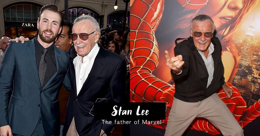 「你是永遠的英雄」Marvel 教父離世,一眾Marvel角色演員相繼悼念Stan Lee,對他留有不捨之情!