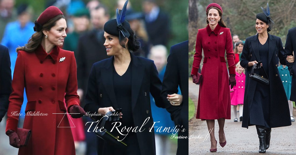 今個節日一件大衣就搞定,連皇室也愛這個配搭!