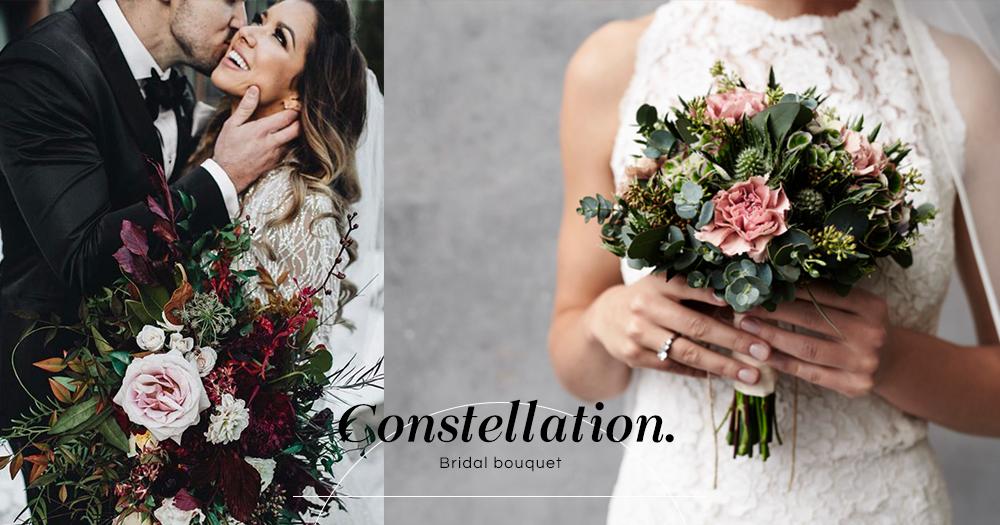 選一個最適合你的花球!12星座新娘們的專屬新娘棒花!你最喜歡哪一款?