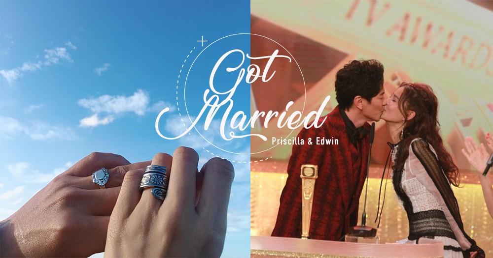 「給對方的是陪伴的承諾」蕭正楠、黃翠如相戀4年公開證實已婚,成頒獎禮亮點!
