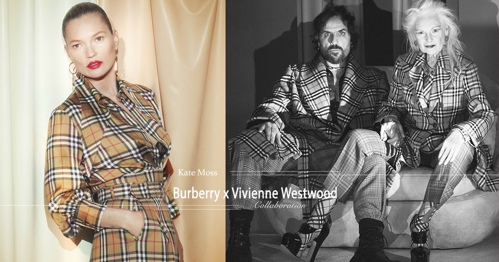 【英倫叛逆】Kate Moss領軍演出Burberry聯乘Vivienne Westwood系列