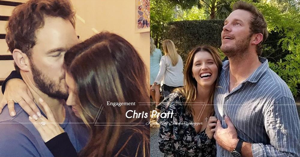 走過離婚的陰霾!星爵Chris Pratt求婚成功即將迎娶Katherine Schwarzenegger!