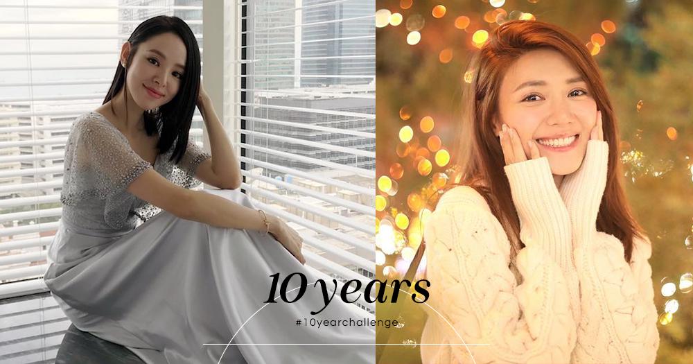 十年如一日!#10yearchallenge盤點譚凱琪、倪晨曦等5個十年依舊美麗的防腐劑女星!