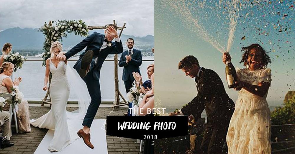 美得窒息:2018全球最佳婚照出爐,將攝影再昇華上藝術層次!