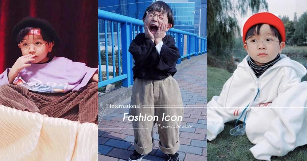 為5歲孫仔親手縫製,打造成潮童登雜誌,鄉下嫲嫲:不懂潮流 只望他能穿得舒適!