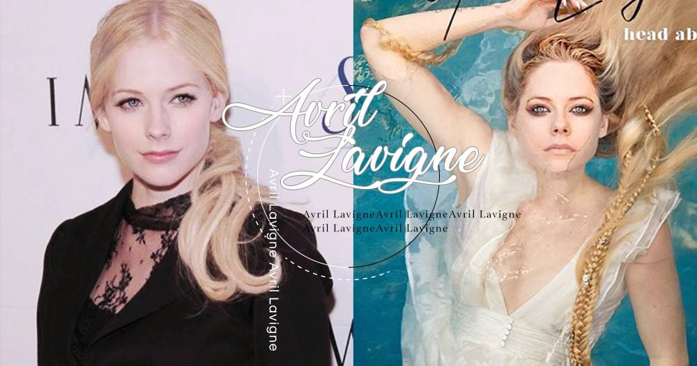 搖滾女神Avril Lavigne卸下濃妝顏值超高!全新形象登上熱搜榜,粉絲:淡妝更顯仙氣!