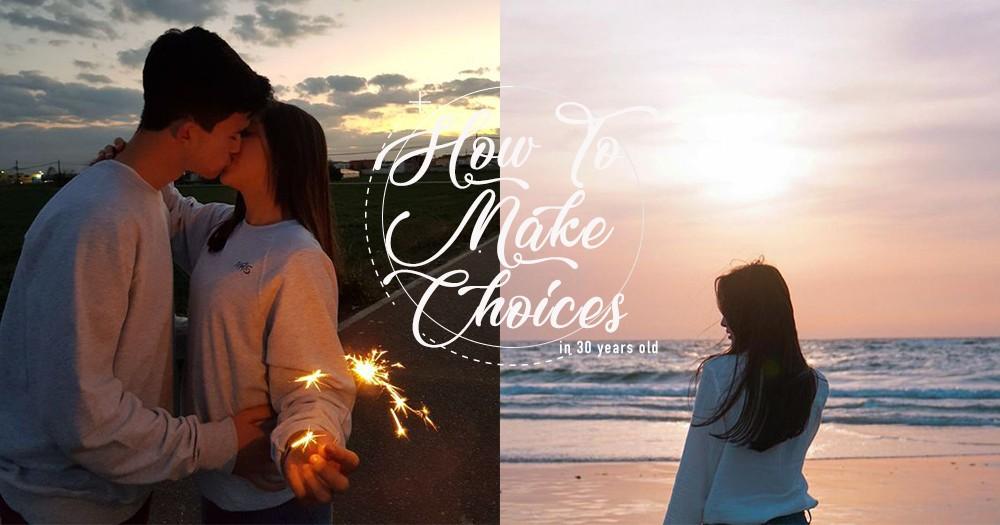 「該繼續尋覓愛情,還是與有能力照顧你的人結婚?」29+1的女人常面對的愛情抉擇題