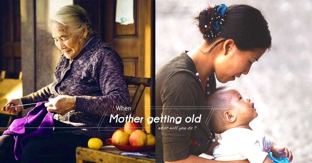 「忘了世界也不忘記愛你」84歲腦退化婆婆幼兒園接女兒放學:記憶留在30年前~