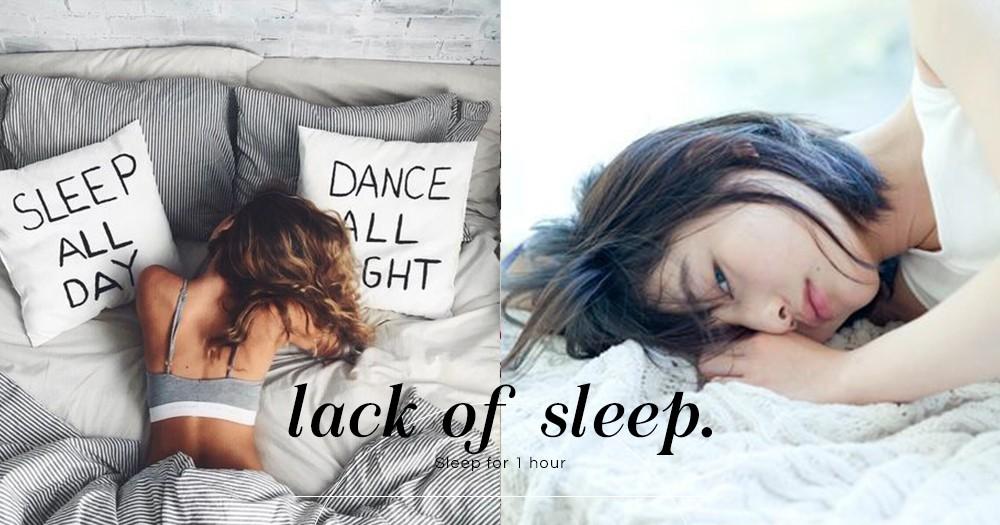 還經常熬夜嗎?研究顯示:睡得越少,越容易發胖!每日補眠1小時可延長壽命~