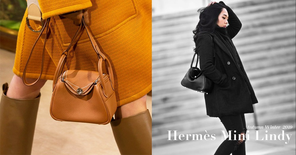 太可愛了吧!一定要收藏Hermès這個迷你版Lindy手袋!