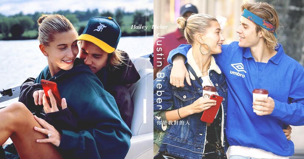 你是我尋找已久的避風港:Justin Bieber認定Hailey為對的人「我們從未厭倦對方!」