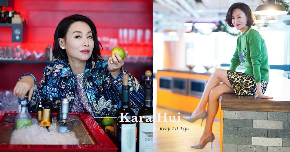 59歲惠英紅貼噴血泳照,原來她美好身材是靠這五個方法練成的!