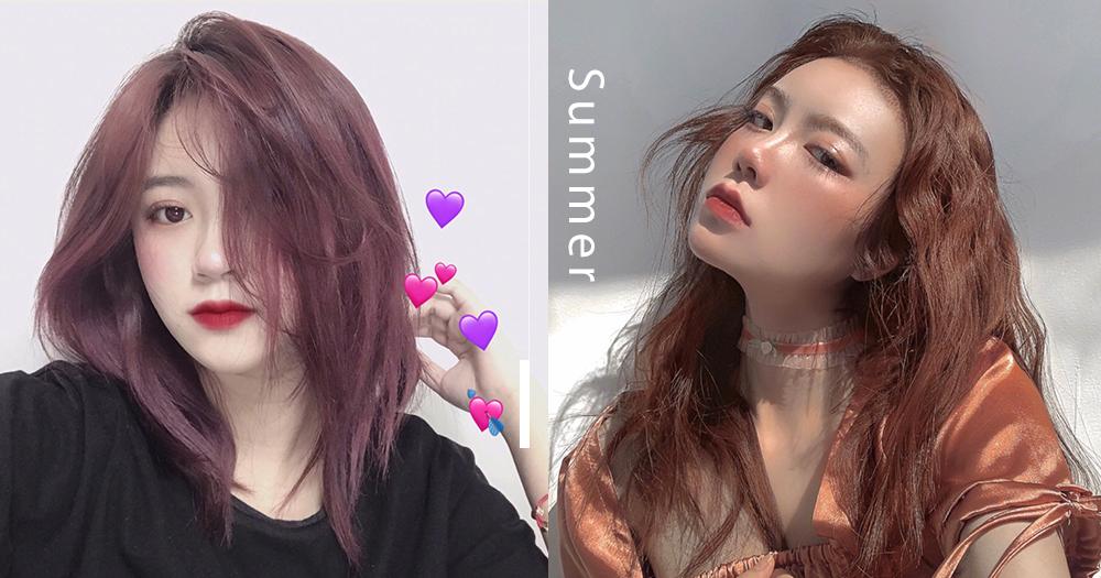 髮色選對能讓顏值加分:韓國女生票選5款春夏大熱仙女髮色!