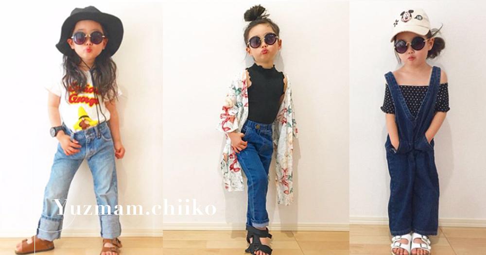 最小的Fashion Icon:跟著日本神奈川小女孩學習10套春夏穿搭造型!