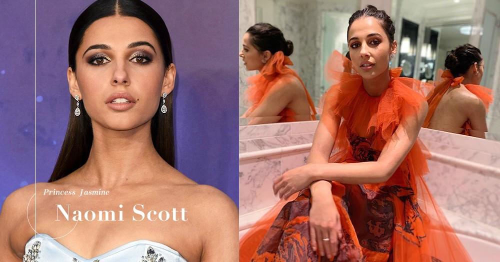 真人版的《阿拉丁》茉莉公主,戴上近百萬港幣的珠寶現身首影禮!