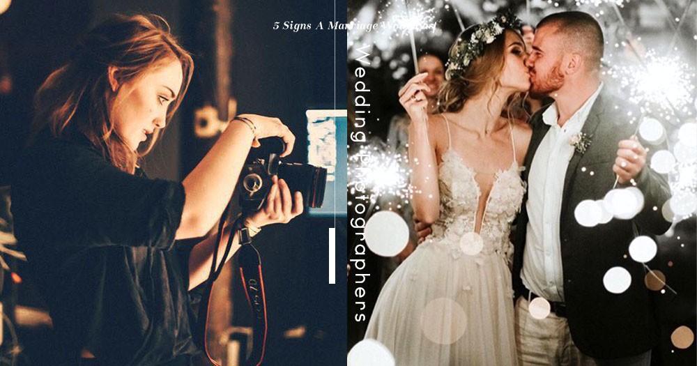 婚紗攝影師經驗分享:以下5個細節 註定新人關係將無法走遠。