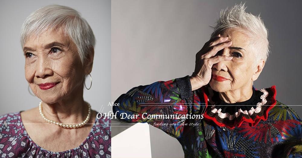 「96歲,依然少女!」全港最老銀髮模特兒 堅持做自己成時尚指標!