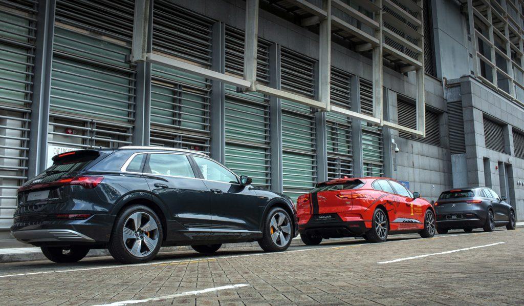 Audi, Audi e-tron, Mercedes-Benz EQC, Mercedes-Benz, Jaguar, Jaguar I-PACE,