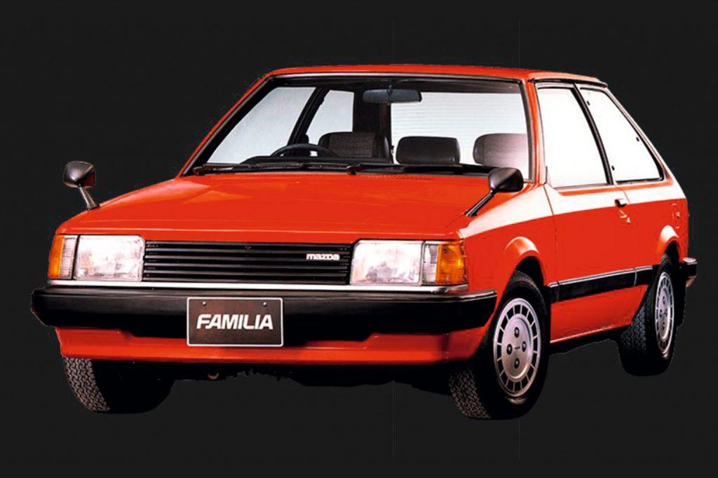 Mazda, 萬事得,萬事得 323, Familia, Mazda 323, Mazda Familia,