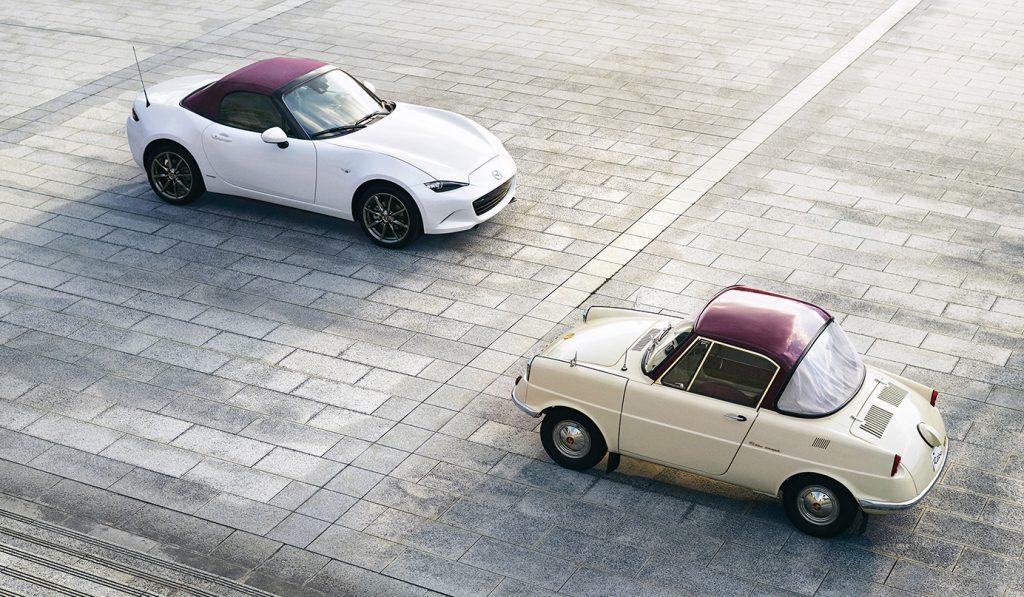 Mazda, 萬事得,Mazda 100th Anniversary, 萬事得 100 周年, Mazda MX-5, Mazda R360 Coupe