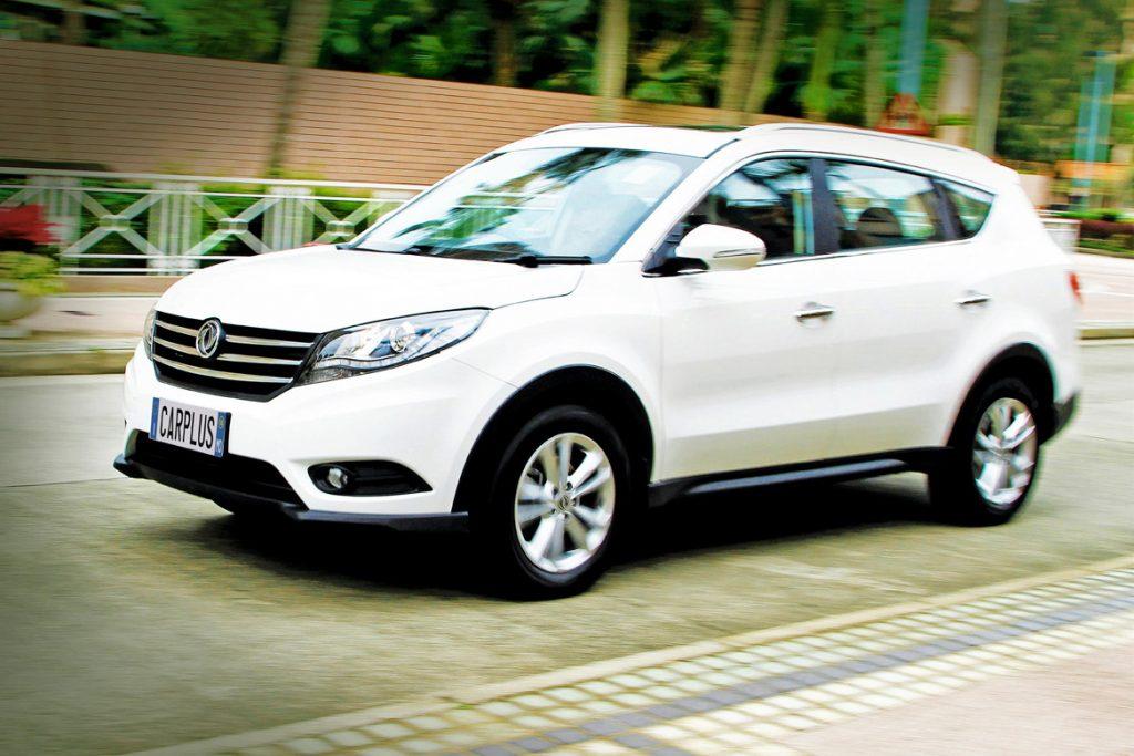 DFSK Glory 580, DFSK, Glory 580, Dongfeng Sokon, 東風小康, 東風汽車, 東風, SUV,