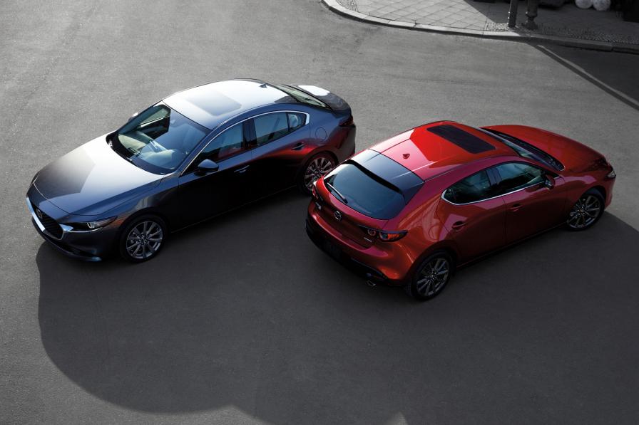 Mazda, Mazda3, Mazda6,萬事得, 萬事得3,萬事得6,