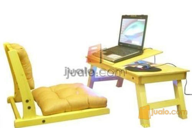 kursi lesehan dan meja laptop - Jualo.com