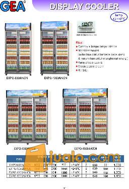 harga Display Cooler 2 dan 3 pintu Jualo.com