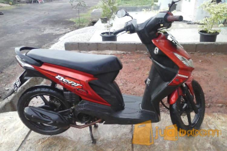 harga Honda Beat 2008 Merah Plat B Depok Atas Nama Sendiri Jualo.com